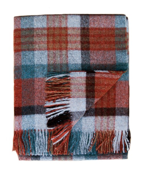Melbourne Pure New Wool Brick Throw