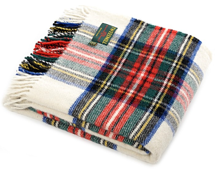 Tartan Wool Picnic Blanket Dress Tweedmill