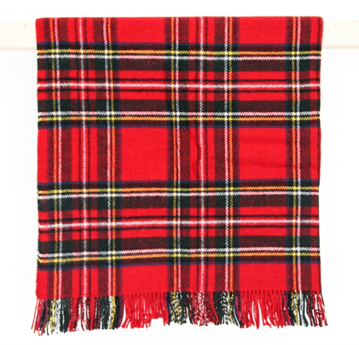 Wool Blanket Online British Made Gifts Red Check Royal
